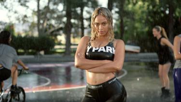 Beyonce wearing Ivy Park.