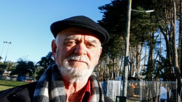 David Berry: his residents group is seeking urgent talks with Level Crossing Removal Authority.