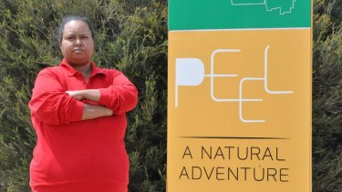 'Time for change': Bindjareb traditional owner Karrie-Anne Kearing says the region has to drop the name 'Peel'.