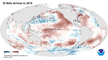 Unusual warmth over the Pacific has scientists puzzled