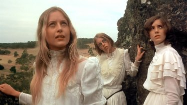 Peter Weir's film starred Anne Louise Lambert as Miranda, Jane Vallis as Marion and Karen Robson as Irma.