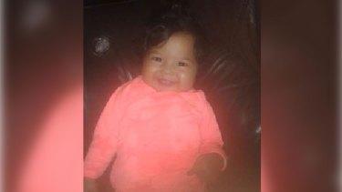 Missing baby Saleighah Amiri.