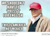 Image shared on DonaldTrump4president2016 Facebook page.