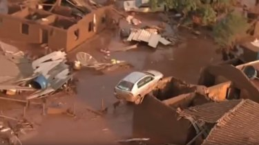 Samarco said it had not yet determined why the dam burst or the extent of the disaster.