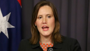 """It's only a matter of time before you're in the spotlight."": Revenue and Financial Services Minister Kelly O'Dwyer."