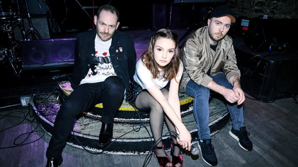 Chvrches have just released theit third album, <I>Love Is Dead</I>.