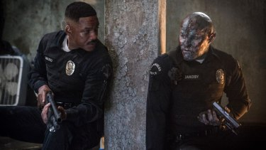 Will Smith and Joel Edgerton in Netflix's first major blockbuster, Bright.
