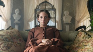''Jo was a literary heroine of mine, especially when I was struggling with my dyslexia growing up,'' says Maya Hawke.