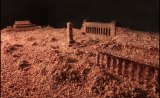 Artist Guo Jian created an artwork to privately commemorate the 25th anniversary of the Tiananmen Square massacre by covering a large diorama of the square with 160 kilograms of minced meat.