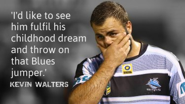 Support from the enemy: Kevin Walters believes Wade Graham should play in Origin II.