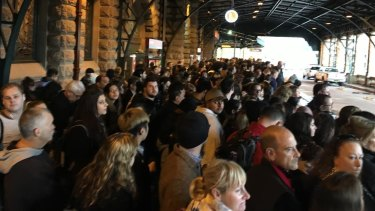 Crowding has been deteriorating during peak periods on the light rail.