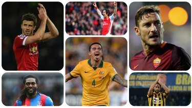 Marquee attractions: Michael Carrick, Tomas Rosicky, Luca Toni, Francesca Totti, Tim Cahill and Emmanuel Adebayor.