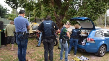 South West Police executed search warrants on properties across Collie and Allanson on Friday, January 6.