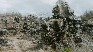 Bones of the land: The eery pinnacles of coral that cover Banaba.
