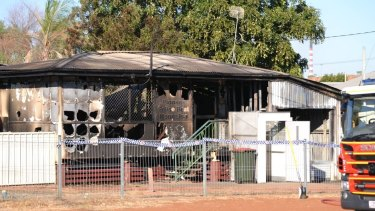 A suspicious fire has destroyed a police beat in the north west Queensland town of Mt Isa.