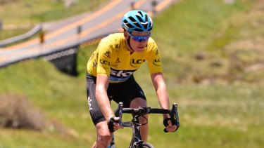 'It's a unique opportunity for me to mingle with people and just enjoy a day on the bike': Chris Froome at the first L'Etape Australia ride last year.