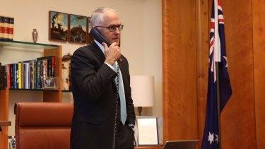 Prime Minister Malcolm Turnbull congratulates the US President-elect Donald Trump.