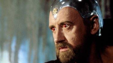 Nicol Williamson in the 1981 film <i>Excalibur</i>.