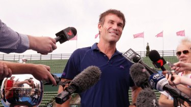 Pat Cash took a swipe at Tennis Australia.