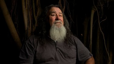 Darug tribe elder Uncle Gordon Workman says his people will not give up fighting for their rights.