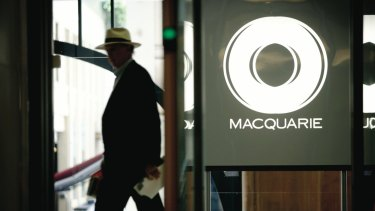 Demand for Macquarie's services has risen in line with market volatility.