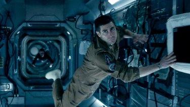 Actor Jake Gyllenhaal as American astronaut David Jordan in Life.