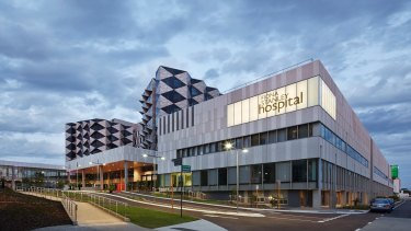 Hospitals in Perth have a big impact on surrounding office markets.