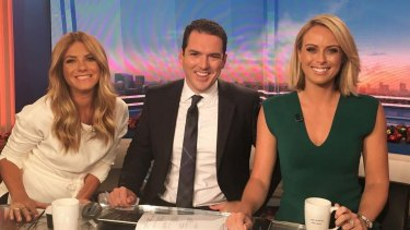 Natalia Cooper, Peter Stefanovic and Sylvia Jeffreys on TODAY.