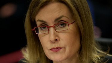 Unlikely to apologise... Local Government Minister Gabrielle Upton.