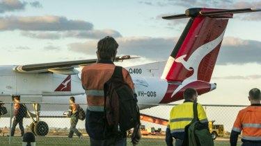 Some return flights from mine sites cost $2500 return.