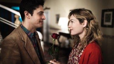 Arturo (Pierfrancesco Diliberto) and Flora (Cristiana Capotondi) in The Mafia Kills Only in Summer.