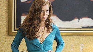 Dressed by Michael Wilkinson ... Amy Adams in <i>American Hustle</i>.