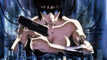 Johansson plays a character that appeared earlier in a manga comic series and animated film.