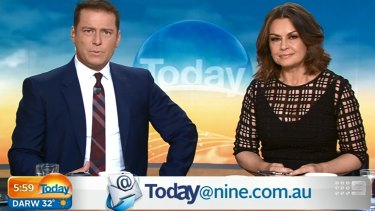 """""""I think there's clearly an agenda there"""": Karl Stefanovic was critical of the celebrity campaign."""