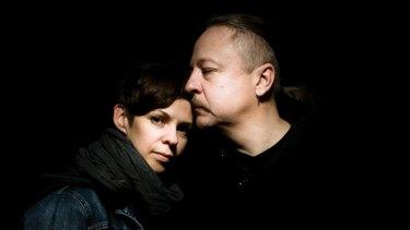 Natalia Koliada and Nikolai Khalezin of the persecuted Belarus Free Theatre.