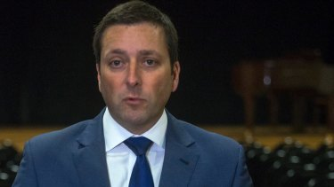 State Opposition Leader Matthew Guy was a  guest at a dinner with an alleged Melbourne Mafia boss.