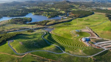 The National Arboretum, Canberra, by Tonkin Zulaikha Greer and Taylor Cullity Lethlean.