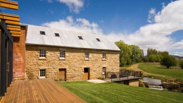 Nant whisky distillery at Bothwell, Tasmania