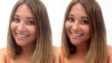 A whole new you: Carli Alman from beautyheaven gives herself an Instagram makeover using an editing app.