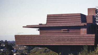 The famed Sturges residence in Los Angeles is featured among the 1300 photographs in USC's recently released archive.