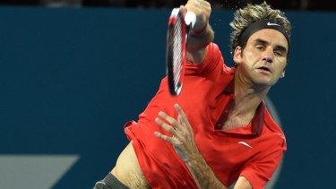 Roger Federer will play Lleyton Hewitt on Monday night.