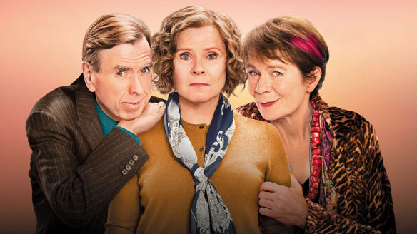 The cast of Finding Your Feet: Timothy Spall, Imelda Staunton and Celia Imrie.