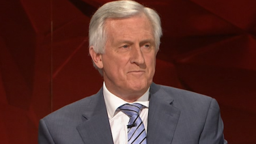John Hewson says there are too many vested interests.