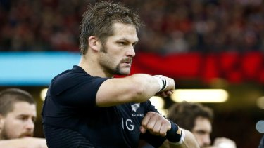 Go-to man: All Blacks flanker Richie McCaw knows the pain of a Bledisloe loss.