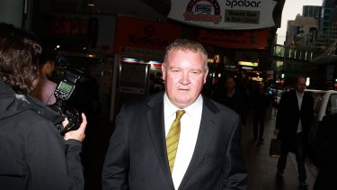 CFMEU NSW secretary Brian Parker was a key figure in the accusations made against Cbus.