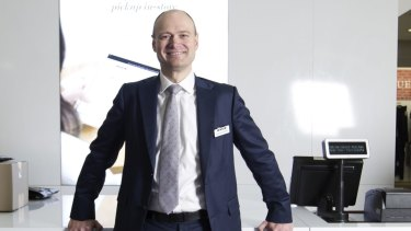 Myer CEO Richard Umbers is culling about 100 brands to make way for new labels.