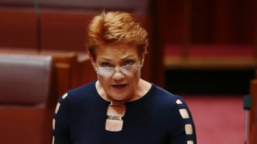 Pauline Hanson says she won't vote for any legislation until the government resolves a dispute over sugarcane.