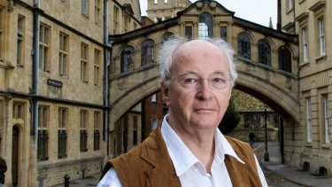Back to Lyra: Author Philip Pullman.