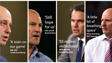 A tough time for the Parramatta Eels.