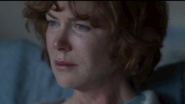 Nicole Kidman as Saroo's adoptive mother in Australia.